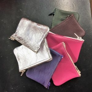 Accessories - Sm Premium USA Quality Leather Zipper Coin Pouch